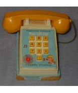 Vintage Fisher Price Pop Up Pal Phone Telephone no. 150 - $19.95
