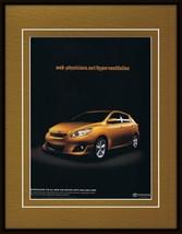 2009 Toyota Matrix Framed 11x14 ORIGINAL Vintage Advertisement - $34.64
