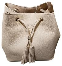Tory Burch  Thea Bucket Pebbled Sweet Melon Leather Shoulder Bag - $299.00