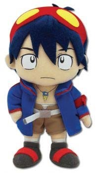 Gurren Lagann: Simon 9 Inch Tall Plush GE7095 NEW!