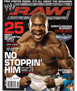 SHELTON BENJAMIN, WRESTLEMANIA in  WWE May 2006 - $4.95