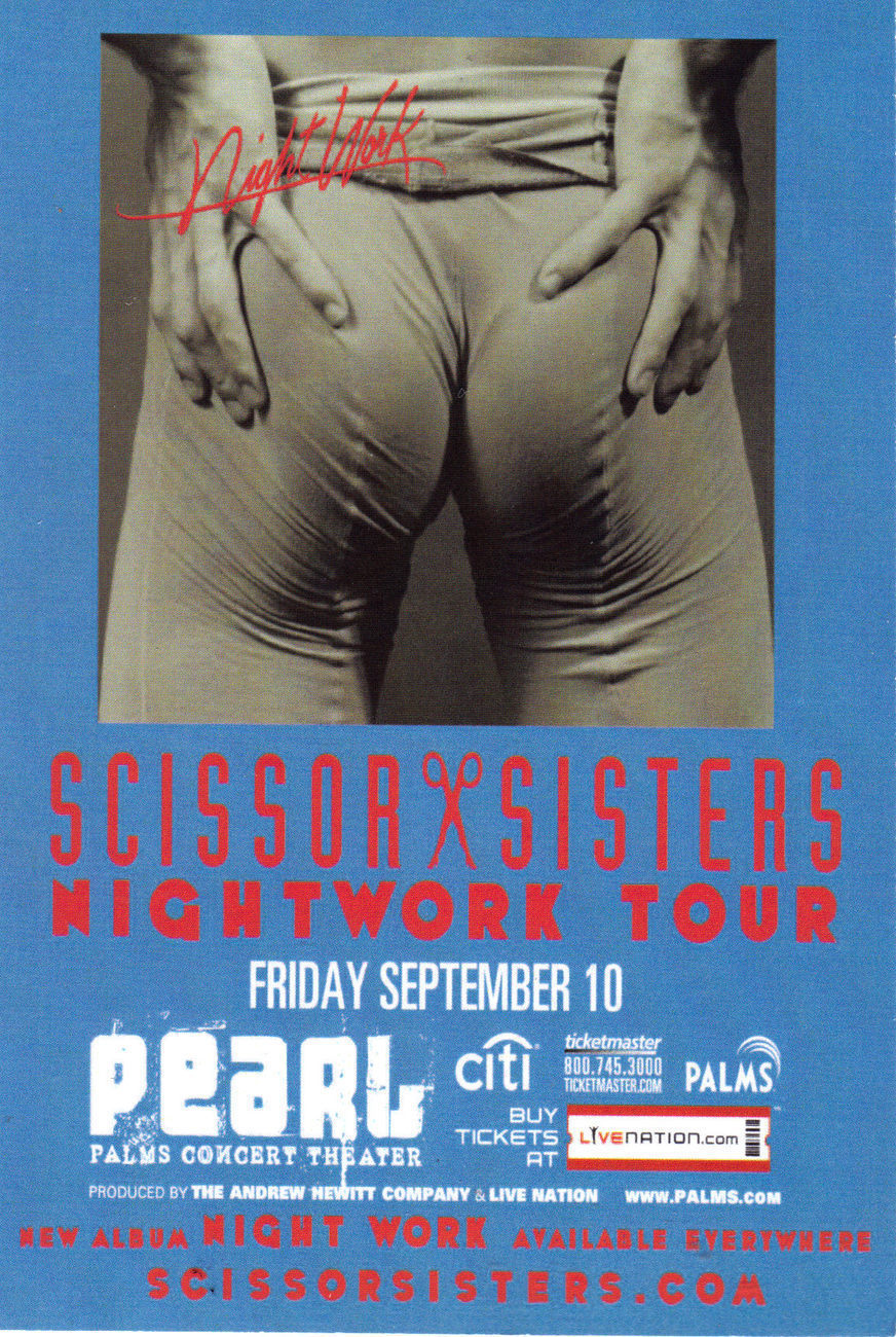 SCISSOR SISTERS NightWork Tour @ PEARL Palms Concert Theater