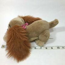 "Disney LADY and the Tramp 10"" Plush Stuffed Animal Pink Bow Vintage image 7"