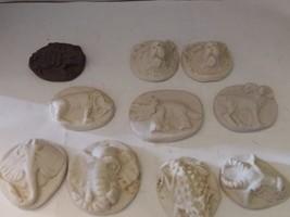"10 Animal Ceramic Molds (1 1/2"") - $12.50"