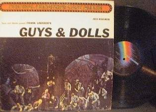 Feuer Martin presents Frank Loesser's GUYS & DOLLS - MCA Records MCA-2034