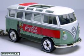 Rare Key Chain Vw Volkswagen Van Bus Coca Cola Coke Cox - $39.95