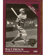 Walt French Baseball Card #1143 1929 Phila Athe... - $2.75