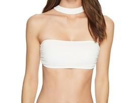 NWT Michael Kors Swimsuit Bikini Top Size M Choker Bandeau - $26.98