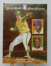 1987 Hall of Fame Forty-Eigth Annual Baseball Program - $6.94