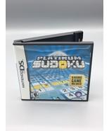 Platinum Sudoku Nintendo DS Complete with Case, Manuel & Game - $9.99
