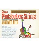 [LP Record] Those Fantabulous Strings - Insturmental Versions of Hits Ma... - $74.33