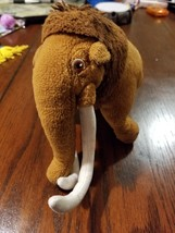 "Ty Ice Age Beanie Babies Manny the Wooly Mammoth Plush Toy 6"" New with Tags - $0.73"