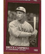 Bruce Campbell Baseball Card 1994 card #1228  - $1.95