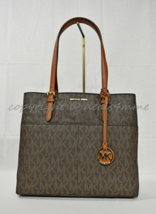 NWT MICHAEL Michael Kors Bedford Large Top Zip Pocket Tote in Signature ... - $169.00