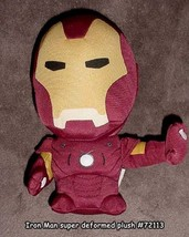 Marvel Super Deformed Iron Man 8 Inch Tall Plush Brand NEW! - $18.99