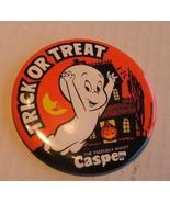 Casper Trick or Treat Pinback Pin  - $4.99