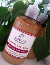 Vanilla Zen Ultra  Moisturizing Botanical Body Lotion - 4 oz No Parabens - $12.00