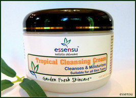 Tropical Organic Facial Cleansing Cream with Real Banana - 8 oz All Skin Types - $21.00