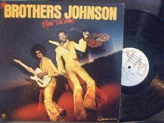 The Brothers Johnson - Right On Time - A&M Records SP-4644