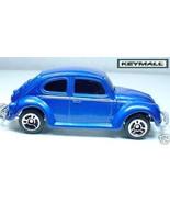 Rare Porte Cle Bleu VW Beetle Cox Coccinelle Key chain New - $19.94