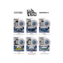 Greenlight Vee V Dub Series 3, 6pc Diecast Car Set 1/64 Diecast Model Ca... - $52.32