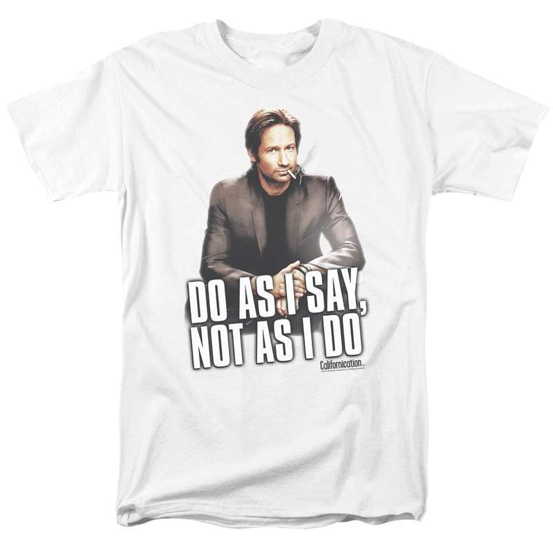 series david duchovny novelist california for sale online white graphic t shirt  sho309 at 800x