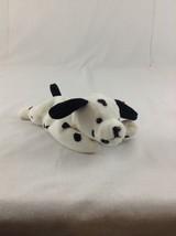 1996 Ty Beanie Baby Dotty The Dalmatian Dog Spots Stuffed Plush Animal Toy - $5.89