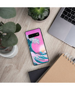 Vaporwave Phone Case Aesthetic Great Wave Samsung Galaxy Case S10+ S10e ... - $18.77