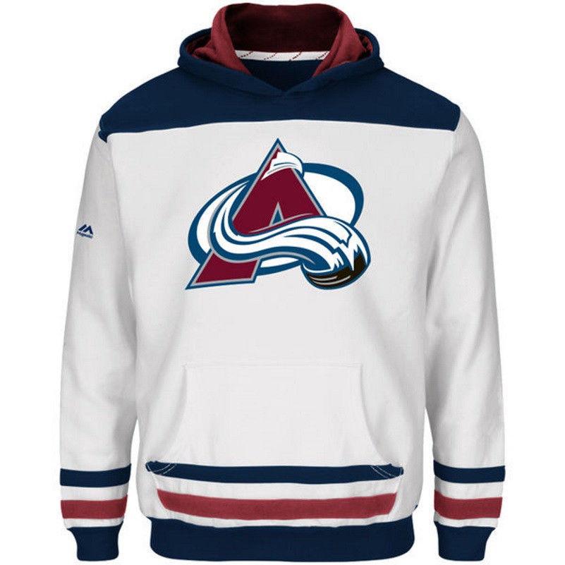Boy's 8-20 Colorado Avalanche Hoodie NHL Double Minor Hooded Fleece Sweatshirt