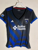Adidas Women's MLS Jersey San Jose Earthquakes Team Black sz M - $12.86