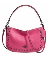 ❤️ COACH Chelsea 37711 Crossbody  in Floral Rivets hobo bag satchel NEW ... - £97.59 GBP