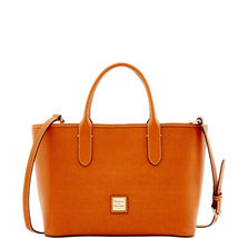 Dooney & Bourke Brielle Natural Saffiano Leathe... - $399.99