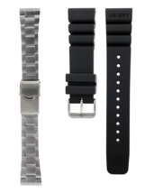 OEM 22 mm Orient Pro-Saturation Diver Bracelet / Rubber Strap Combo - $99.00