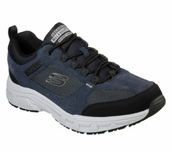 51893 Extra Wide Navy Skechers shoes Men Memory Foam Sport Walk Casual S... - $49.79