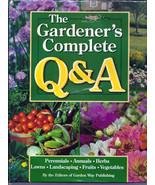The Gardener's Complete Q&A Hardback Book - $5.00