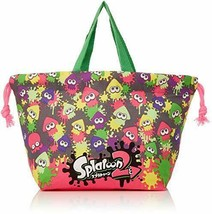 *Skater lunch drawstring bag for children Splatoon 2 made in Japan KB7 - $33.37