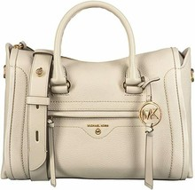 Michael Kors Ladies Medium Pebbled Leather Carine Satchel - $175.00