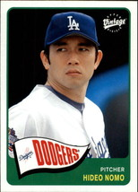 2003 Upper Deck Vintage #78 Hideo Nomo NM-MT Dodgers - $0.90