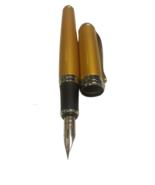 Jinhao x750 G golden Fountain Pen, Super Flex Zebra G Nib Fitted - £10.80 GBP