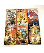 Piers Anthony Paperback Lot of 6 Books Science Fiction Classic Fantasy - $19.31