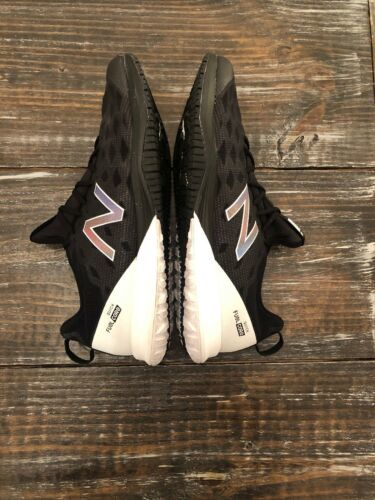 New Balance Fuel Core Quick Size 15 2E Black & White Gym Running Sneakers