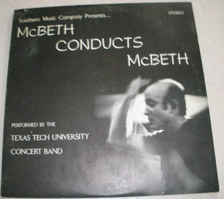 McBeth Conducts McBeth, Vol.1 - Double LP