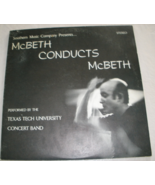 McBeth Conducts McBeth, Vol.1 - Double LP  - $14.25