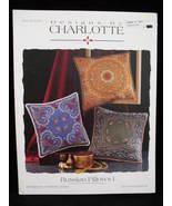 Russian Pillows Cross Stitch Silk Ribbon Embroidery Pattern - $14.99