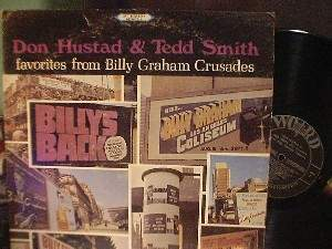 Don Hustad/Tedd Smith Favs from Billy Graham Crusades - Word WST-8410