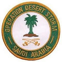 Operation Desert Storm Saudi Arabia Patch - $11.87