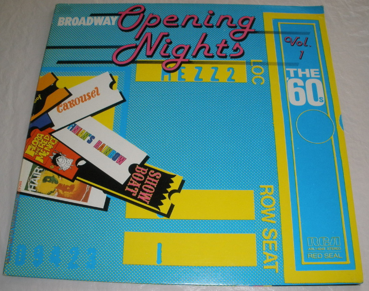 Broadway Opening Nights, Vol. 1, the 60's - LP