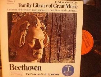 Funk & Wagnalls BEETHOVEN The Pastoral 6th Symphony - RCA Custom FW 301