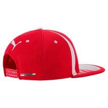 Puma Ferrari Men's SF Adjustable Sport Flatbrim Snapback Hat Cap 02153801 image 2