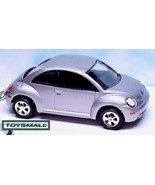 KEY CHAIN 1998~2010/2011 VW NEW BEETLE SILVER BUG VOLKSWAGEN - $39.95